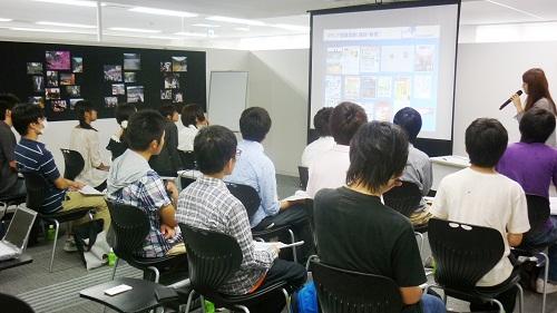 20120831 intro - 高専ベンチャープロジェクトによる高専生の企業訪問を受け入れました