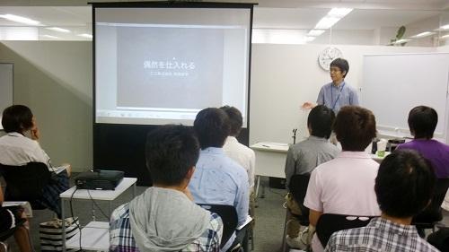 20121029 nakamori1 - Tech-Tokyoで、高専ベンチャー企業訪問ツアー受け入れの様子が紹介されました