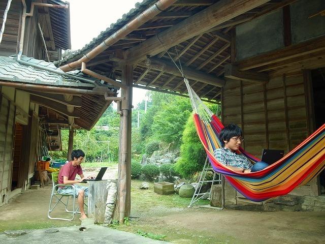 20130301143801 - 日本経済新聞でSansanのサテライトオフィス『Sansan神山ラボ』が紹介されました