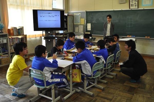DSC 4275 - 徳島新聞でSansanの新入社員研修が紹介されました