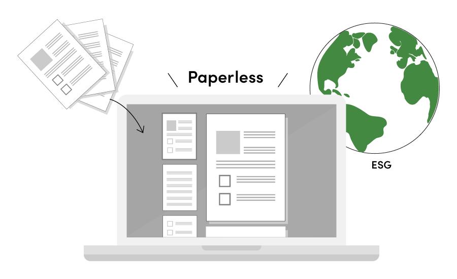 smart pamphlet esg - 展示会での商談機会を最大化する新世代パンフレットサービス「Smart パンフレット」を発表<br> 〜非接触でも商談機会を広げ、展示会運営のDXを実現〜