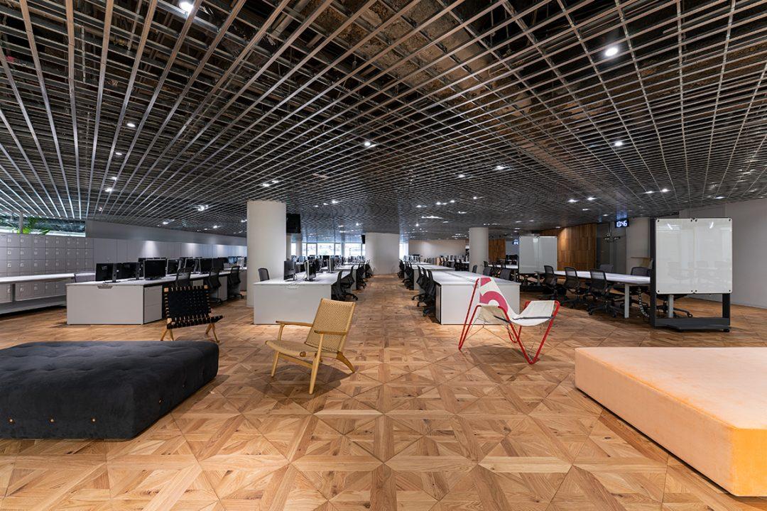 20211001 New Office 06 1080x720 - Sansan、採用に特化した新エリアを本社オフィスに開設<br>~採用活動を加速させ、事業成長を後押し~